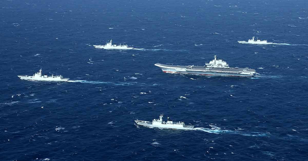 Read more about the article Militarising The South China Sea Amid A Pandemic