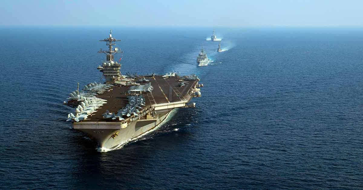 Read more about the article US-China Cold War & The South China Sea